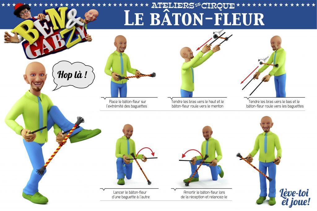 didactique baton-fleur - ateliers Ben et Gabzy