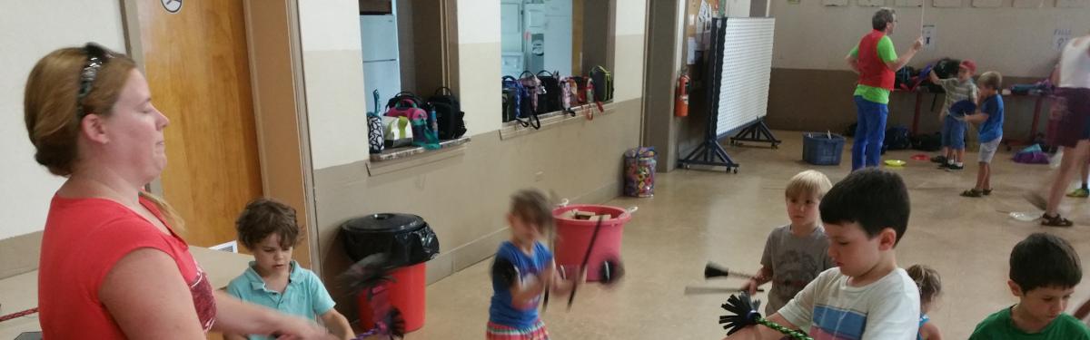 étudiants en jonglerie