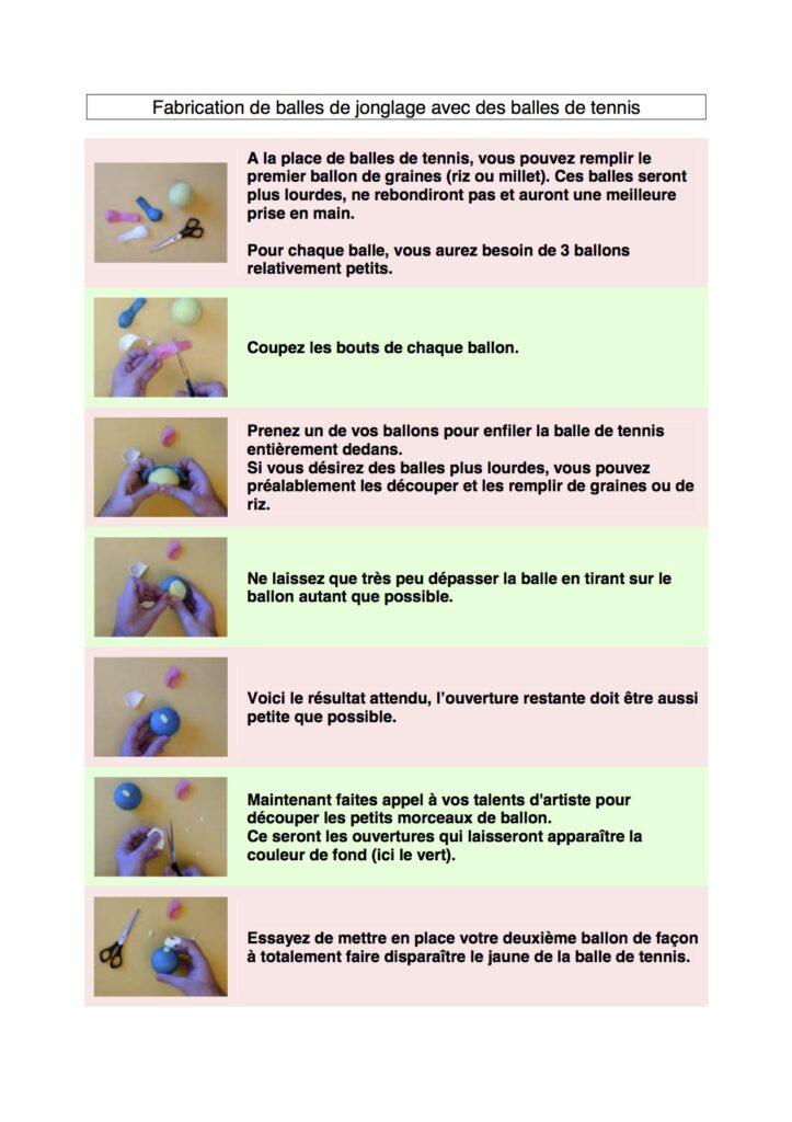 Fabriquer ses balles de jonglerie