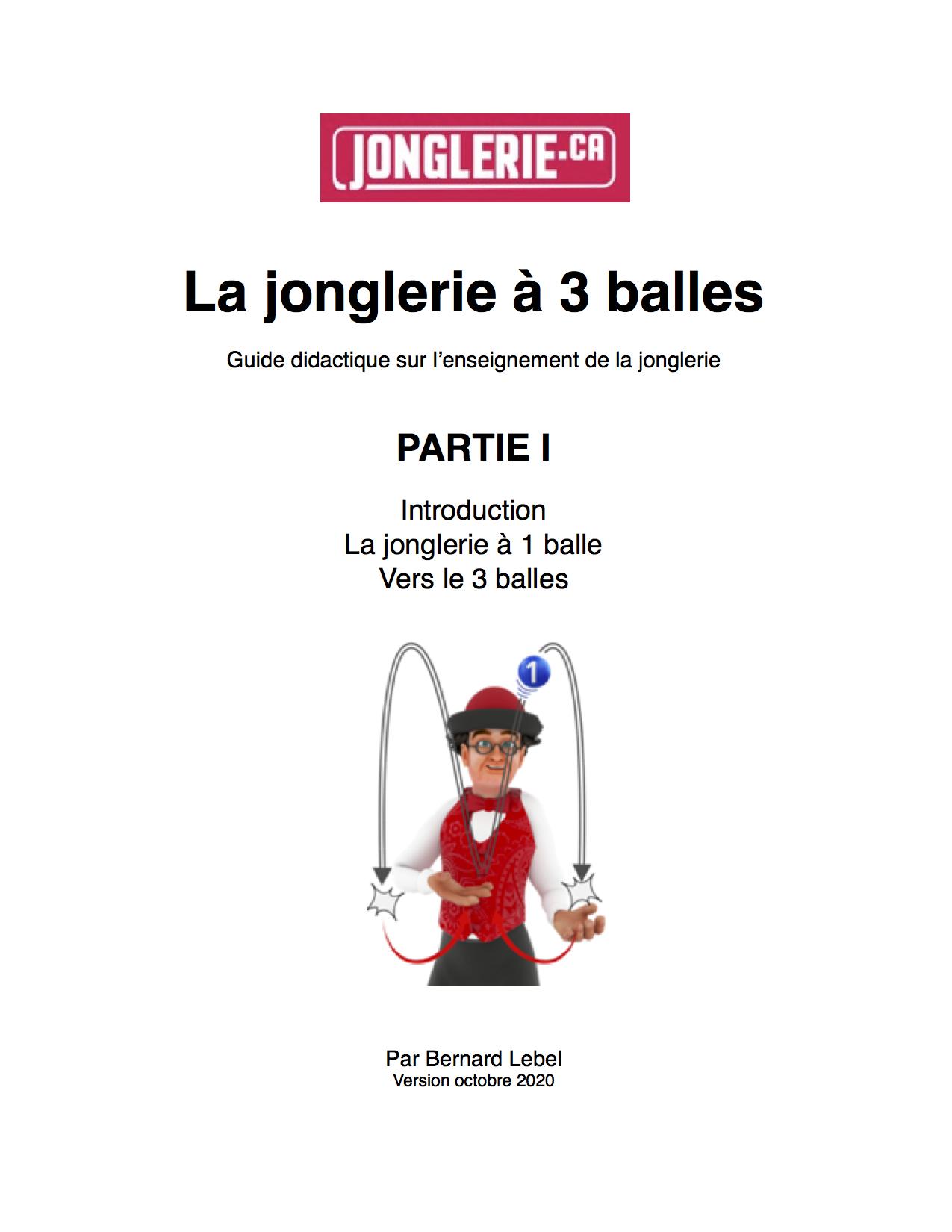 Enseignement jonglerie de ballles