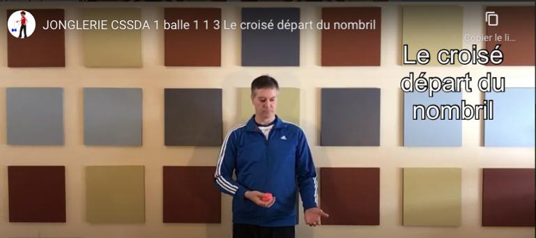 1.1.3 Le croisé départ du nombril